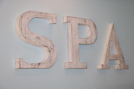 Spa sign copy